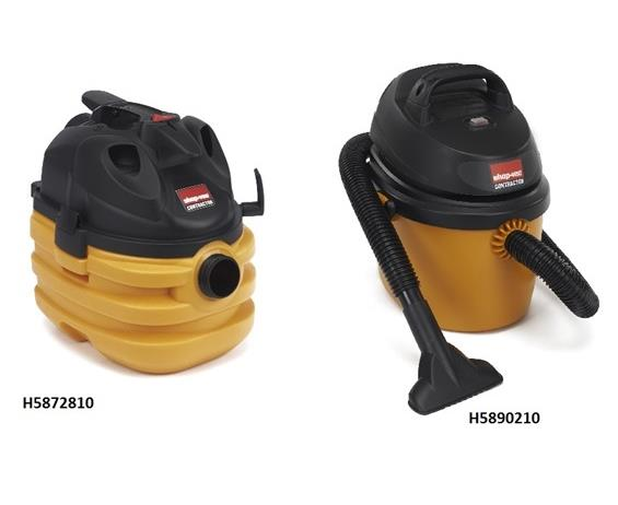 SHOP-VAC® SMALL PORTABLE SERIES WET/DRY VAC